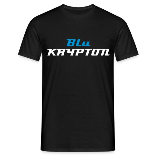 BLU KRYPTON - BLACK - MENS TEE - Men's T-Shirt