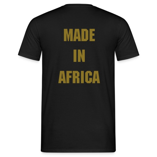 MADE IN AFRIKA  - Mannen T-shirt