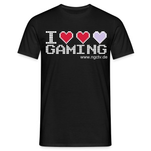 I Love Gaming | Männershirt - Männer T-Shirt