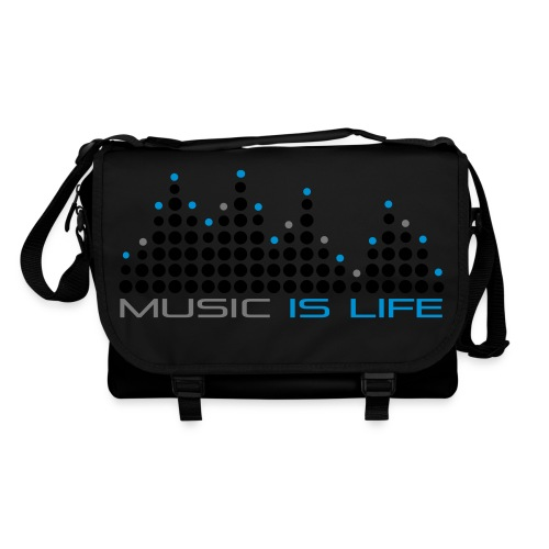 Music is Life | Umhängetasche - Umhängetasche
