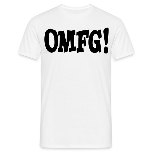 OMFG! | Männershirt - Männer T-Shirt