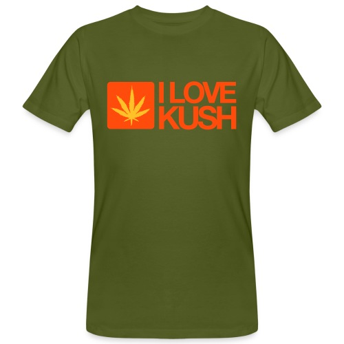 I love Kush. - Men's Organic T-shirt