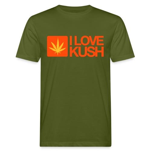 I love Kush. - Men's Organic T-Shirt