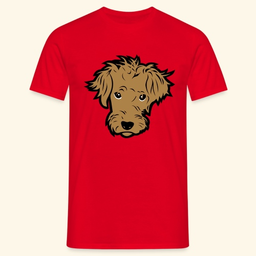 Wuschelhund, Kerlie - Männer T-Shirt