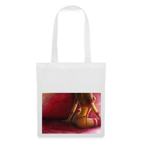 sac corset jaune - Tote Bag