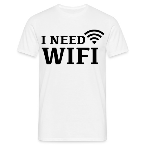 WiFi - Mannen T-shirt
