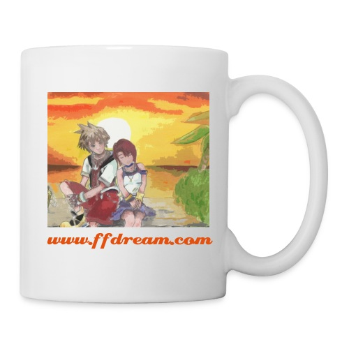 Kingdom Hearts - Mug blanc
