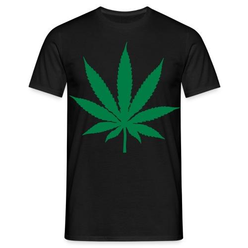 Mannen T-shirt klassiek (Cannabis) - Mannen T-shirt