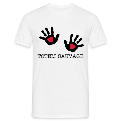 Totem Sauvage hand - T-shirt Homme