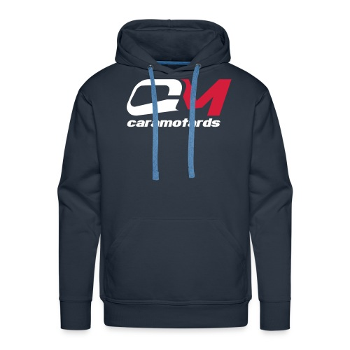 sweat bleu caramotards 2012 - Sweat-shirt à capuche Premium pour hommes