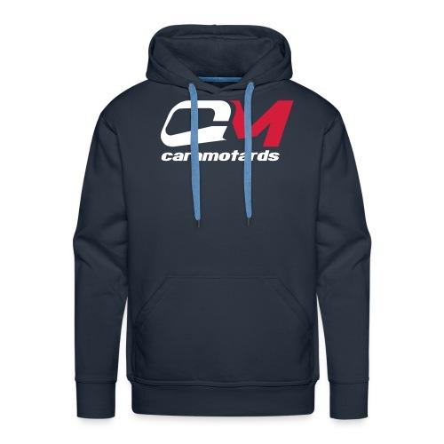 sweat bleu caramotards 2012 - Sweat-shirt à capuche Premium pour hommes