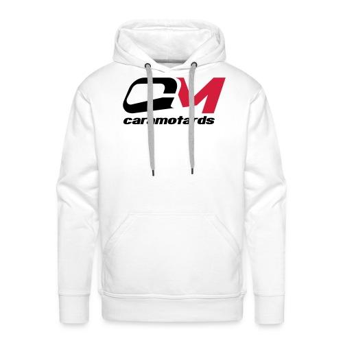 sweat blanc caramotards 2012 - Sweat-shirt à capuche Premium pour hommes
