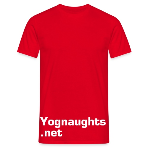 Mens T: Yognaughts.net - Men's T-Shirt