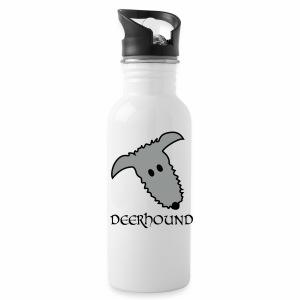 Comic-Deerhound - Trinkflasche