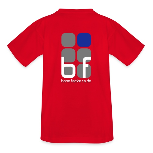 Kindershirt rot - Teenager T-Shirt