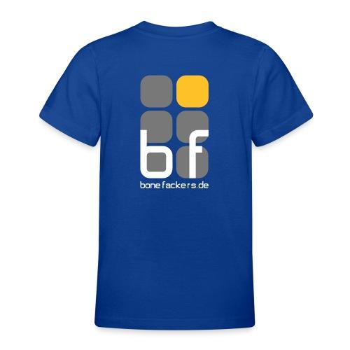 Kindershirt blau - Teenager T-Shirt