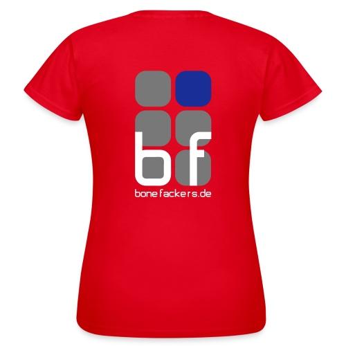 Frauenshirt rot - Frauen T-Shirt