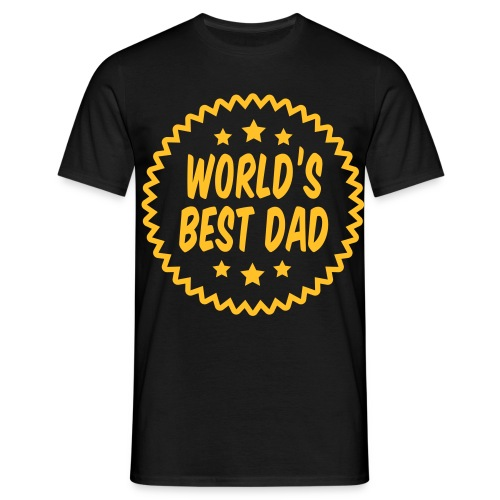 Worlds Best dad! - Men's T-Shirt