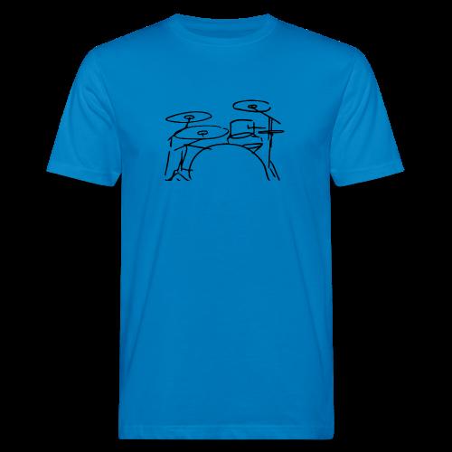 T-Shirt Trommler - Männer Bio-T-Shirt