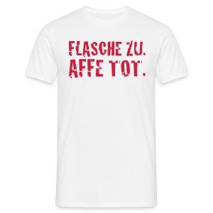 Affe tot weiss - Männer T-Shirt
