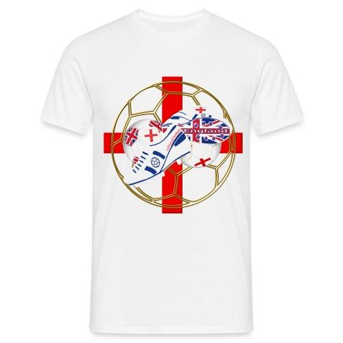England Boots Logo - Men's T-Shirt