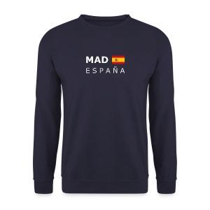 Men's Pullover MAD ESPAÑA white-lettered  - Men's Sweatshirt