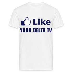 Like YourDeltaTV male - Männer T-Shirt