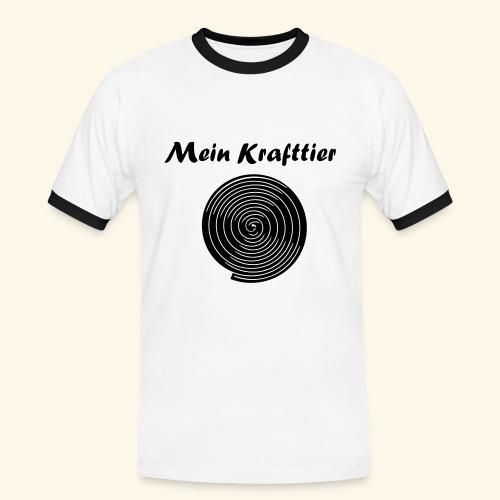 Krafttier, Kontrast - Männer Kontrast-T-Shirt
