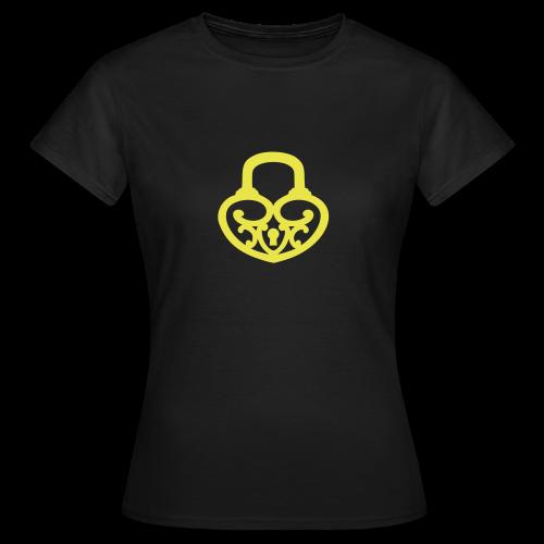 Pop My Lock-Yellow - Women's T-Shirt