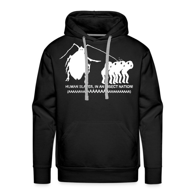 Insect Nation Mens Hoodie