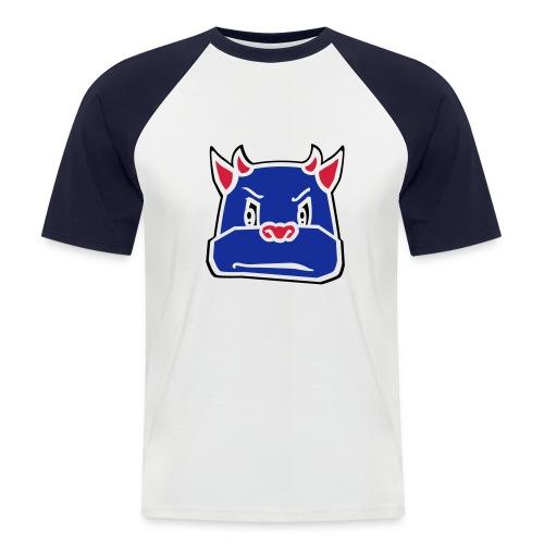 Bull Promodoro Raglan Shortsleeve (shirt in zwart mogelijk) - Mannen baseballshirt korte mouw