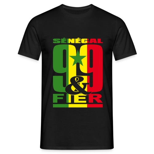 99 et FIER - SENEGAL - T-shirt Homme