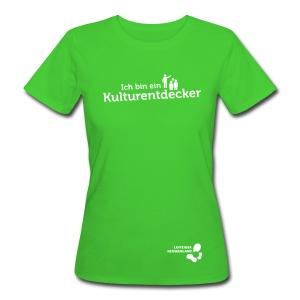 Frauen Bio-T-Shirt Kulturentdecker - Frauen Bio-T-Shirt