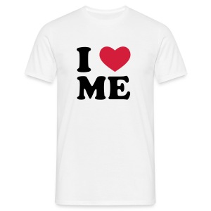 I LOVE ME Version Homme - T-shirt Homme