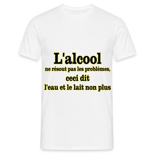 Tee-shirt 3eme mi-temps - T-shirt Homme