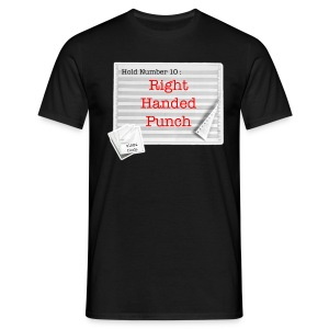 Hold 10 : Right Handed Punch T-Shirt - Men's T-Shirt