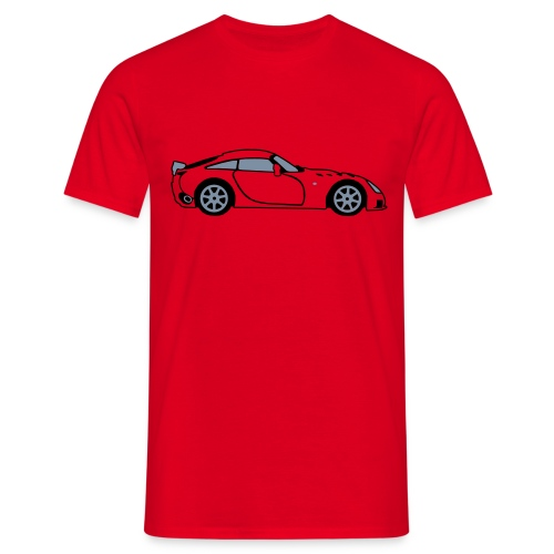 Sagaris Red T-Shirt - Men's T-Shirt
