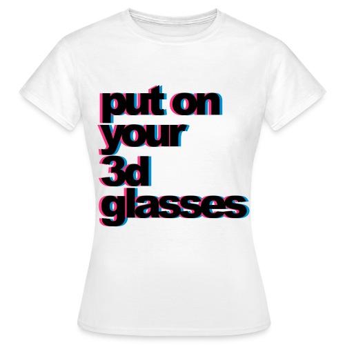 The 3D-T - Women's T-Shirt