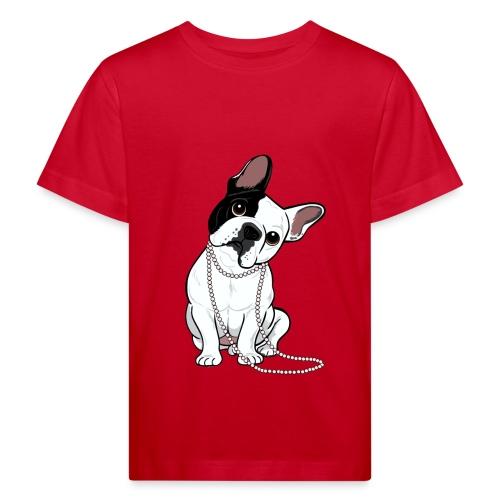 T-shirt bio Enfant - Design réalisé pour Marie-Sabotine.com par Lili CHIN (http://doggiedrawings.net) - All rights reserved -