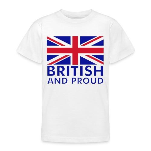 British & Proud Teenager Tee - Teenage T-shirt