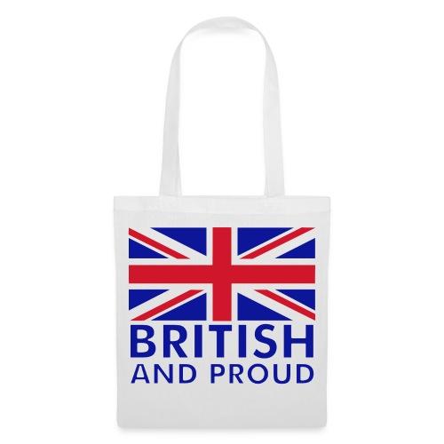 British & Proud Tote Bag - Tote Bag
