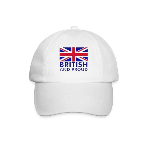British & Proud Baseball Cap - Baseball Cap