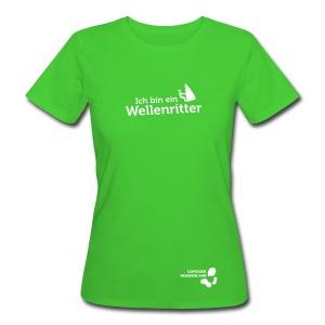 Frauen Bio-T-Shirt Wellenritter - Frauen Bio-T-Shirt
