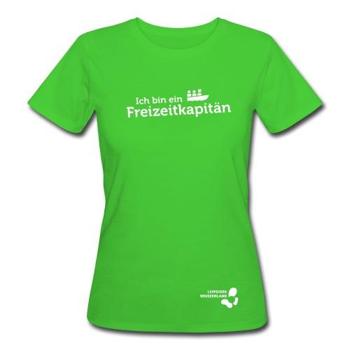 Frauen Bio-T-Shirt Freizeitkapitän - Frauen Bio-T-Shirt