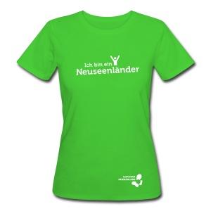 Frauen Bio-T-Shirt Neuseenländer - Frauen Bio-T-Shirt