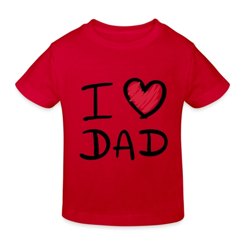 Daddy`s Best - Kinder Bio-T-Shirt