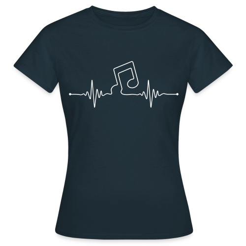 liveline note - Frauen T-Shirt