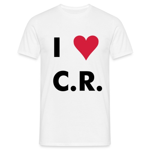 I Love CR - T-shirt Homme