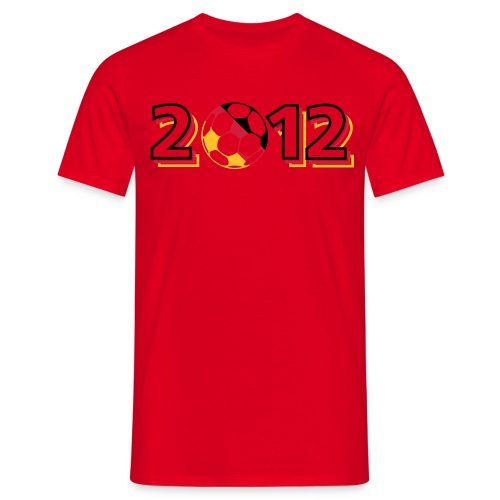 2012 - Männer T-Shirt