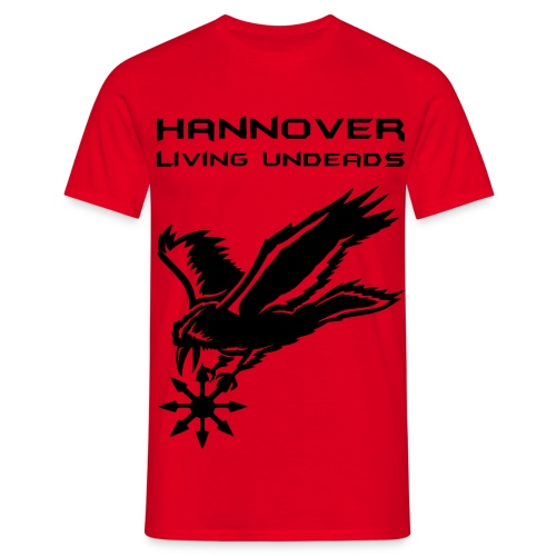 Männer T-Shirt klassisch  HLU+Name - Männer T-Shirt